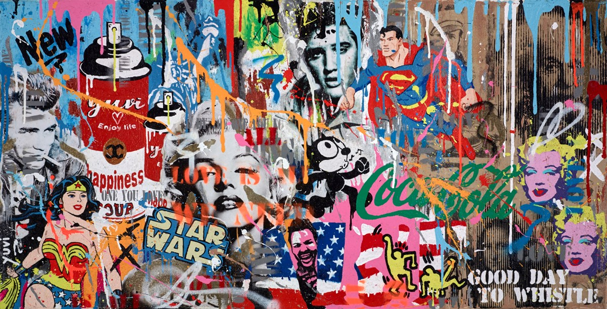 If No One Else Will Defend the World, Then I Must by yuvi -  sized 48x24 inches. Available from Whitewall Galleries